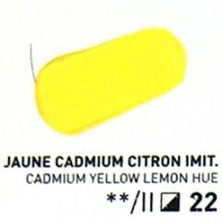 Akryl - žlutá citrónová