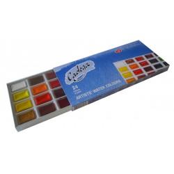 Sada akvarelových barev
