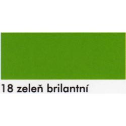 Zeleň brilantní