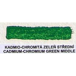 Kadmio-chromitá zeleň střední 20ml