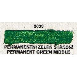 Permanentní zeleň střední 20ml