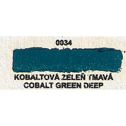 Kobaltová zeleň tmavá