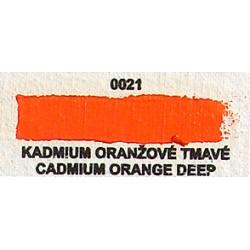 Kadmium oranžové tmavé
