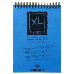 XL mix media A4