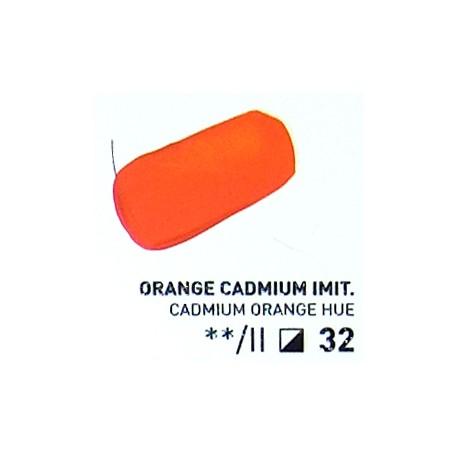 Akryl 100ml - kadmium oranžové