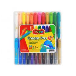 Krémové pastely TORU 24