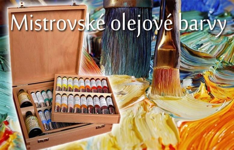 Olejové barvy